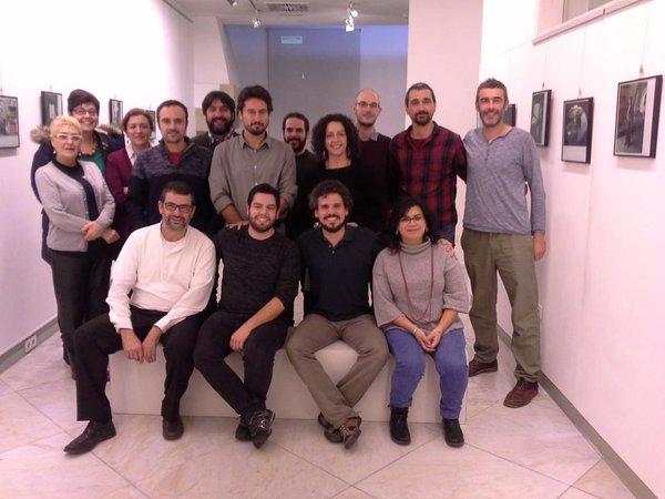 """Mesa de trabajo sobre consumo responsable y economía solidaria en el encuentro municipalista """"Cidades polo Ben Común"""", A Corunha 2015"""